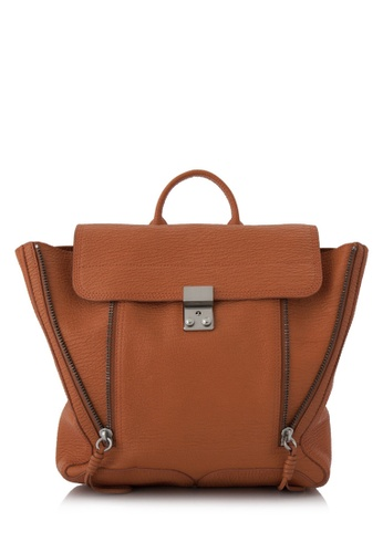 3.1 PHILLIP LIM orange Pre-Owned 3.1 Phillip Lim Pashli Backpack EB4B7AC575C2D5GS_1