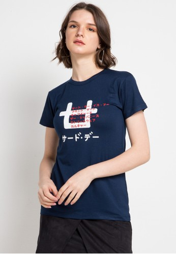 Third Day multi and navy S/S Lds Logo1 Skecth F2AFEAA71A89CBGS_1