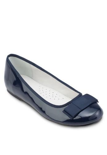 蝴蝶結esprit tsim sha tsui圓頭平底鞋, 女鞋, 鞋