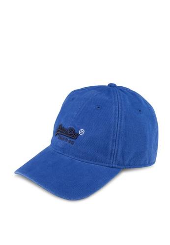 Superdry blue Orange Label Cap 60BCDAC4229555GS_1