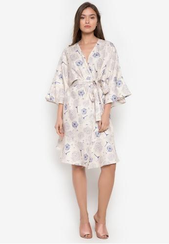 TM white Cadiz Kimono Dress 20DF2AABA1786AGS_1