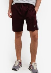 Factorie red Troupe Shorts FA880AA37YHMMY_1