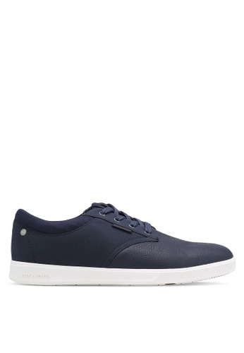 Jack & Jones navy Gaston Sneakers JA987SH0RB4DMY_1