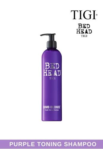 TIGI n/a Bed Head DUMB BLONDE PURPLE Toning Shampoo 971F0BE0D849D7GS_1