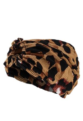 niko and ... brown Wrap Headband 578BFACF700045GS_1