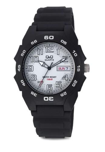 Q&Q A170J003Yesprit旗艦店 防水休閒手錶, 錶類, 其它錶帶