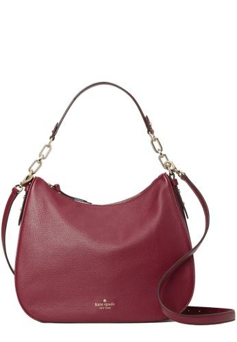 KATE SPADE red Kate Spade Mulberry Street Vivian Bag in Blackberry Preserve 5E258AC2F73C3CGS_1