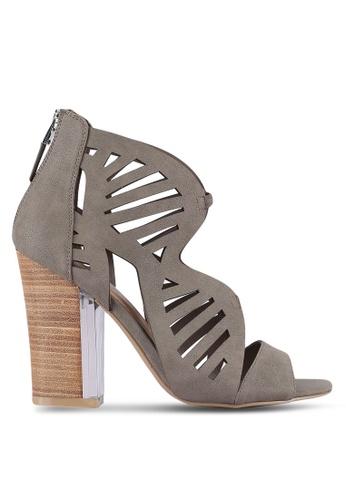 Call It Spring grey Voicia Heels CA512SH0RLL1MY_1