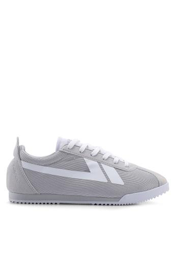 Kolca grey and white 78 Seveneight Sneakers 855A1SHE95F053GS_1