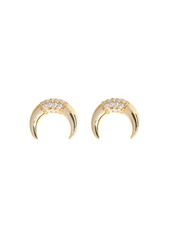 Wander Co Gold Luna Pave Earrings 3c138ac2f728d3gs 1
