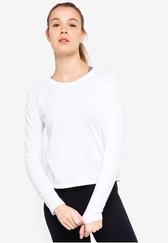 Cotton On Body white Back To School Long Sleeve Top CB4B8AAA6EC83CGS_1