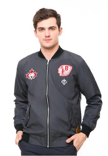 bloop grey Bloop jacket i bomber b52 grey BLP-RD003 AEC5CAAC0A4C04GS_1