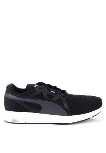 Puma black Nrgy Dynamo Shoes A5FD6SH495DF6AGS_1
