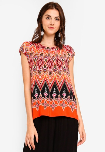 907121c68444bf Buy Dorothy Perkins Petite Red Paisley Shell Top Online on ZALORA ...