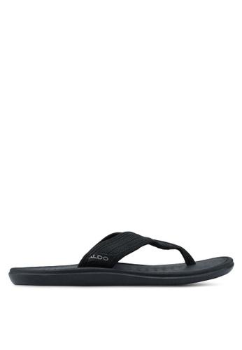 ALDO black Nydeliviel Flip-Flops 73BEFSH41381A0GS_1