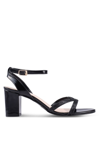 de3b6cfdaaf Buy DMK Ankle Strap Glitter Heel Sandals Online on ZALORA Singapore