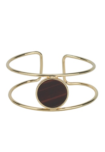 My Flash Trash gold Picasso Tiger Eye Bangle 88DF8AC0F012E0GS_1