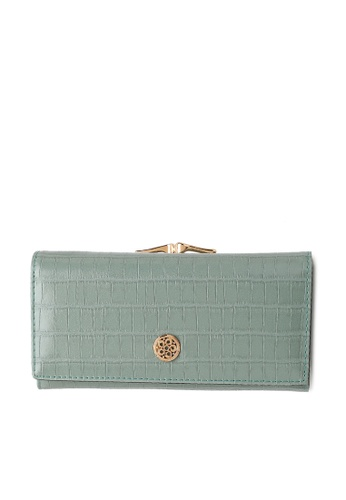 Wild Channel green Ladies Long Purse B1764AC0C209F9GS_1