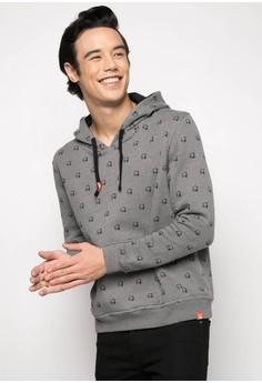 Printed Hoodie Jacket