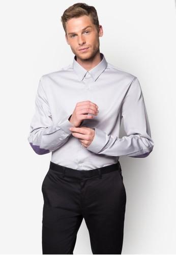 zalora 衣服評價經典棉質長袖襯衫, 服飾, 襯衫