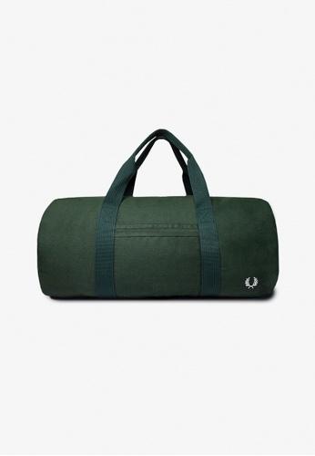 Fred Perry green L5277 - Branded Duffle - (Tartan Green) 3FC13AC4FE9E84GS_1