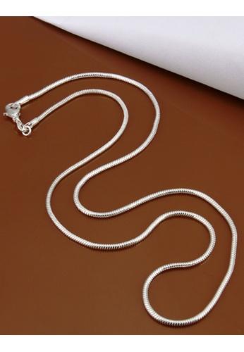 KLF silver Crysella Ladies Necklace By KLF KL134AC63ZLWMY_1