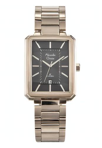 Alexandre Christie gold Alexandre Christie Jam Tangan Wanita - Gold Black - Stainless Steel - 8555 MDBCGBA D7924ACAA752FAGS_1