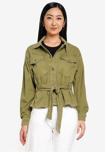 ONLY green Nora Crop Utility Jacket 03C9EAA2212C01GS_1
