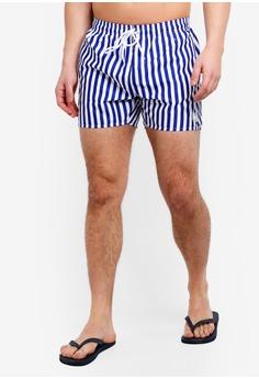 f473ae1d6836 Topman multi Stripe Swim Shorts A15C5US66B4FE5GS 1