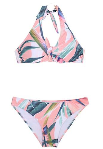 Halo multi Printed Swimsuit Bikini 8B009USE09F85FGS_1