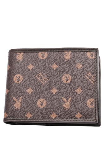 Playboy brown RFID Blocking Wallet 9696DACED0FB6FGS_1