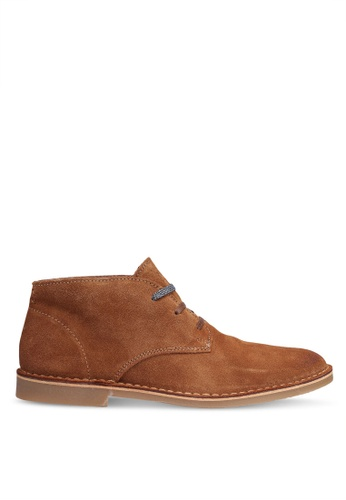 Selected Homme brown Royce Desert Suede Boot DD626SHAAF11A7GS_1