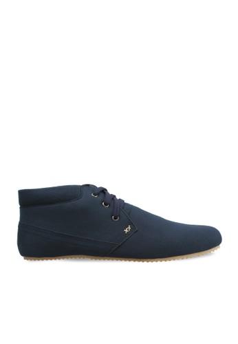 Minarno blue Blue Canvas Boots ADN017 MI641SH15VHGID_1