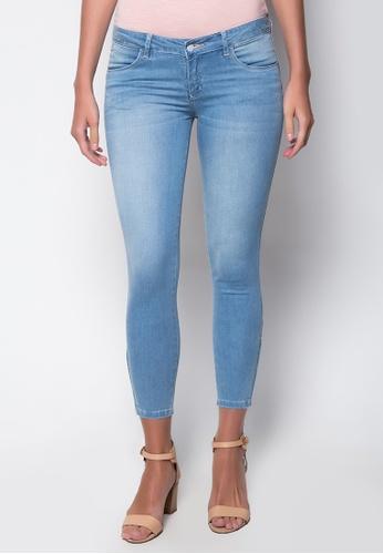 Wrangler blue Lena Light Beauty Jeans WR067AA81KQKPH_1