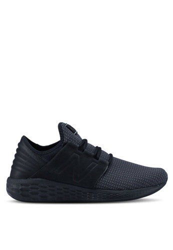 New Balance black Cruz Future Sport Nubuck Shoes 1416DSH91C9DE0GS_1