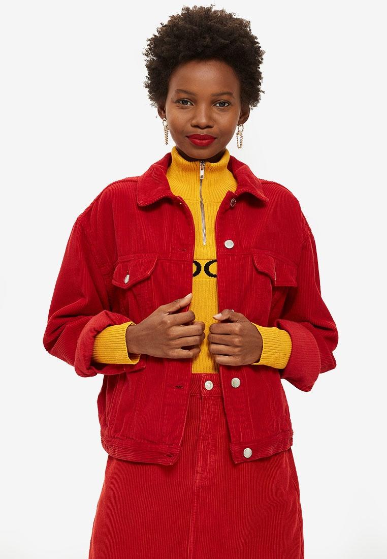 Corduroy TOPSHOP Jacket TOPSHOP Red Boxy Corduroy gAZq7wEg