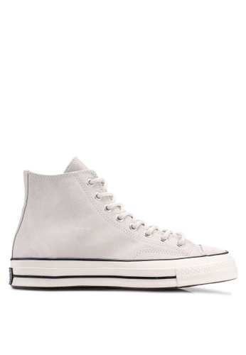 d3fb14a54846 Converse beige Chuck Taylor All Star 70 Base Camp Suede Hi Sneakers  FDE59SHDF54522GS 1