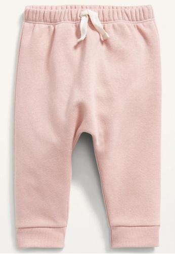 Old Navy pink Baby U-Shaped Fleece Pants 6C61CKA105F130GS_1