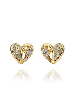 18k Gold Plated Little Sharie Earrings