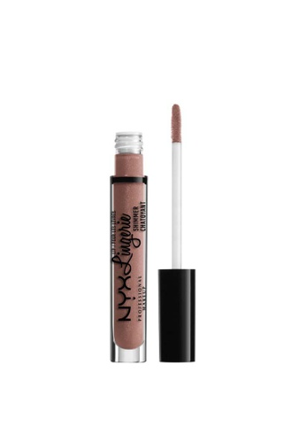 NYX Professional Makeup brown NYX Professional Makeup Lip Lingerie Shimmer - LLS06 BUTTER 132F4BED85545BGS_1