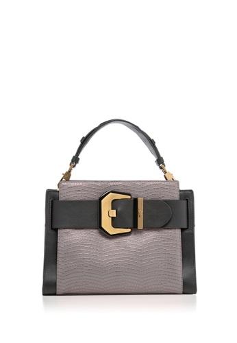 Braun Buffel grey Farrah Top Handle Bag 38168AC6FF3B86GS_1