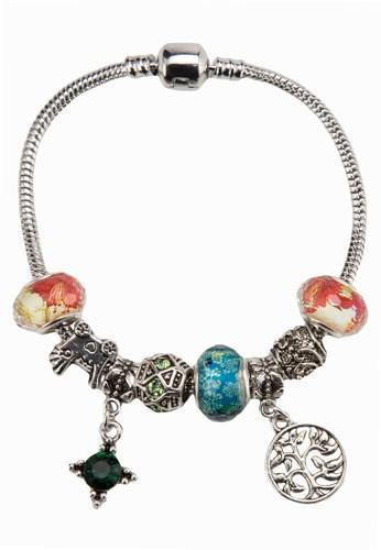 鏤空寶esprit outlet 家樂福石吊飾手環, 飾品配件, 手鐲 & 手環