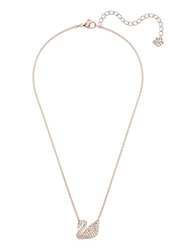 b52a5c25de42de Shop Swarovski Iconic Swan Necklace Online on ZALORA Philippines