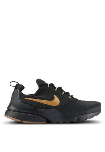 Nike black and gold Men's Nike Presto Fly Shoes NI126SH0STRBMY_1