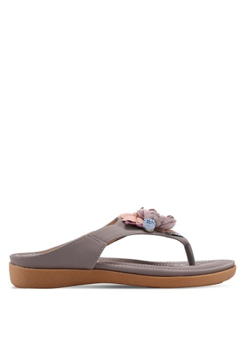 Mimosa grey Slip On Sandals 980ACSH2F58DEFGS_1