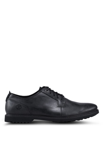 Timberland black Lafayette Park Oxford Shoes 13258SHABD45A1GS_1