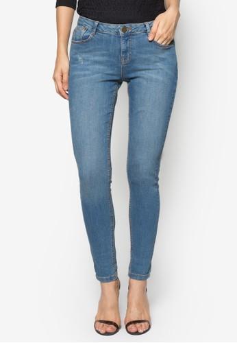 Mid Wash Harper Jean, zalora 心得服飾, 緊身牛仔褲