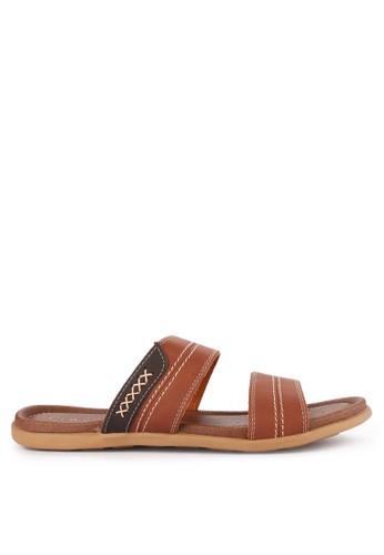 CARVIL brown Sandal Casual Men Oscar-02M A9E9BSH63B750DGS_1