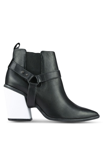 House of Avenues black Detachable Tassel Booties HO685SH0RRA7MY_1