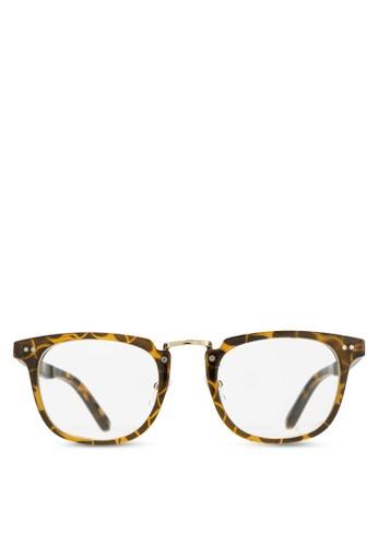 zalora 包包 ptt韓系時尚平光眼鏡, 飾品配件, 飾品配件